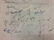 ADELAIDE CROWS AFL CIRCA 1991/92  FIRST SQUAD VERY RARE SIGNED T SHIRT COA