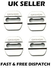 Silver Chrome Door Lock Covers Latch Pins Styling Custom Fits Nissan Qashqai J11