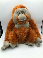 Wild Republic K&M Orangutan Orange Monkey Plush Kids Soft Stuffed Toy Animal