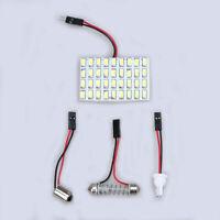 10x T10 BA9S 36SMD 5630 Car LED Dome Reading Light Panel Interior Bulb white