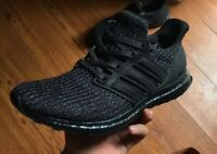 Adidas UltraBoost Ultra Boost 4.0 Triple Black BB6171 Mens Size 10.5