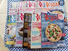 """LOT de 5 revues """"REGAL"""" au choix - VALEUR : 19,5 € - Comme neuf"""
