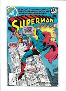 SUPERMAN #335 [1979 VG+] WHITMAN VARIANT!