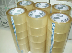 "36 Rolls Clear Packing Packaging Carton Sealing Tape 1.8 Mil Thick 2"" x 110 Yard"