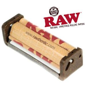RAW HEMP COATED PLASTIC CIGARETTE ROLLER ROLLING MACHINE 70mm