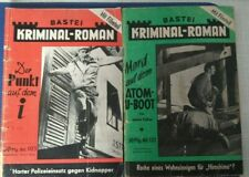 Bastei Kriminal-Roman 103 und 132