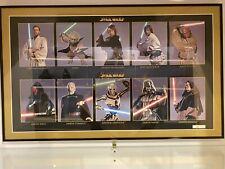 Star Wars Official Pix Framed Heroes & Villians Limited Print