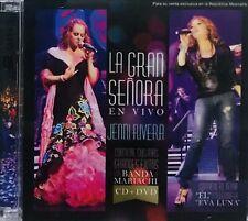 Jenni Rivera, La Gran Señora En Vivo CD + DVD New, Sealed