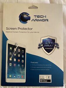 Tech Armor HD Clear Film for 9.7 In Apple iPad Air 2 / iPad Air NEW - 1 COUNT