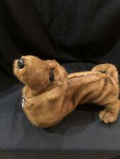 Fuzzy Nation Dachshund Dog Purse