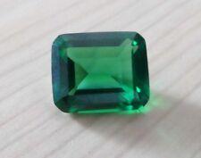 5.26CT AAA Natural Mined Green Emerald Gem Emerald Cut 10x8mm VVS Loose Gemstone
