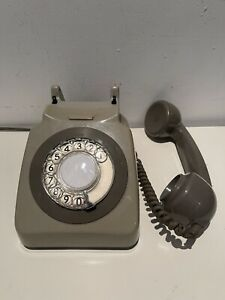 BT Rotary Dial 8746G Telephone 1981 - Fully Operational With Standard BT plug