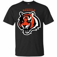 Cincinnati Bengals T-Shirt Cincinnati Bengals Men's Tee Shirt Short Sleeve S-5XL