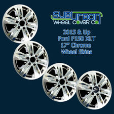 "2015-2020 Ford F150 XLT # IMP-387X 17"" CHROME Wheel Skins / Hubcaps NEW SET 4"