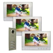 """Mehrfamilienhaus Farb Video Türsprechanlage Monitore 10""""  Nachtsicht Cam 110°"""