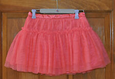 Girl's Coral Skirt Size 4T ADORABLE Fantastic Condition Detail, see pics