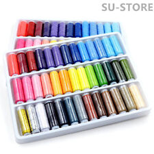 39pcs 200 Yard Mixed Colors Polyester Spool Sewing Thread For Hand Machine Tool