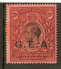 TANGANYIKA 1917-21 KGV 20R SG61 LHM