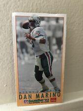 "DAN MARINO  HOF QB  MIAMI DOLPHINS  1993 FLEER/McDONALD's ""GAME DAY 93"" # 9"