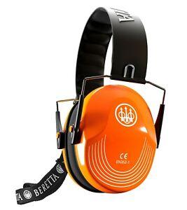 Beretta Standard Earmuff 25db Orange CF1000000204FF New! Muff Hearing Protector