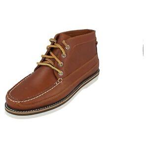 Herren Sperry Hellbraun Leather Schnürer Stiefel 10540575 A/O Dbl Sohle Chukka