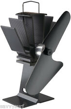 Ecofan Heat Powered Stove Fan Eco Friendly Energy Efficient Reduce Fuel Faster