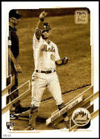 Andres Gimenez 2021 Topps 5x7 Variation Short Prints Gold #53 /10 Mets