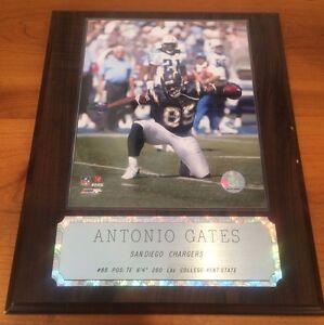 Antonio Gates San Diego Chargers Player Plaque