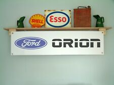 Ford Orion Banner Vehicle Workshop Garage Car show sign