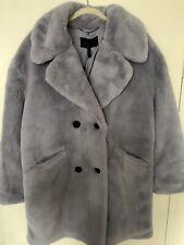 NWT BCBGMAXAZRIA BCBG faux Fur Jacket/coat In Lavender S