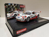 Slot car SCX Scalextric Carrera 27507 Porsche GT3 RSR Lechner Racing Team Nº14