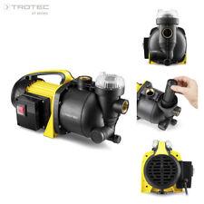 TROTEC Bomba de jardín TGP 1005 E con filtro Bomba de agua aspersor para césped
