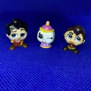 Disney Doorables Collectible Movie Characters Set X3 Cartoon Figures Brand New