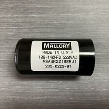 108-140uf Msa4r22108r Mallory Motor Start Capacitor 220vac Suit 240vac Motors