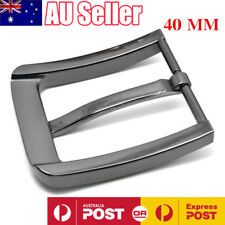 Stainless Steel Pin Buckle for Men Leather Belt Waist Strap Snap On Replacement