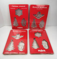 Paul Isling Christmas Ornaments 12 Art Glass Nybro Glasbruk Sweden Lot