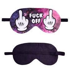Adjustable Creative Sleeping Mask Blindfold Men Pure Cotton Eye Mask for Women