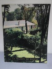 Livre - La Maison de Balzac