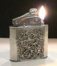 Briquet ancien * MYON 401 Géant Indochine Argent * Lighter Feuerzeug Accendino