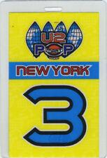U2 1997 Popmart Tour Laminated Backstage Pass New York City Nyc Bono