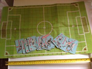Old RETRO VINTAGE 50s Original FOOTBALL GAME FOOTBALLER SPORT PLAYING CARDS RARE
