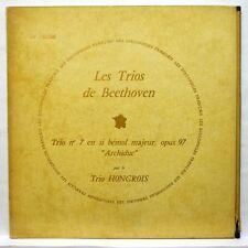 TRIO HONGROIS - BEETHOVEN trios no.7 DISCOPHILES FRANCAIS LP