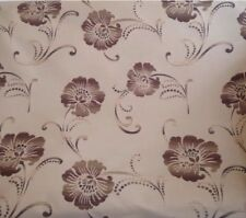 10 metres Prestigious Floral Tapestry Weave Curtain Fabric Cappuccino Shades