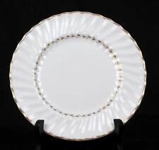 Royal Doulton Fine Bone English China Adrian Salad Plate White Gold Dinner