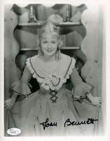 Joan Bennett Jsa Coa Hand Signed 8x10 Photograph Authenticated Autograph