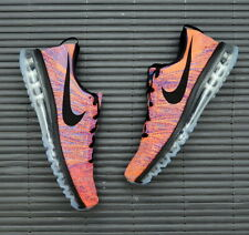 Nike Flyknit Air Max Photo Blue Total Crimson 620469-404 UK10.5 EUR45.5 TN 90 95