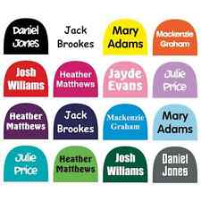 5 PAIRS PERSONALISED SHAPED SHOE NAME LABELS STICKERS FOR SCHOOL KIDS SHOES