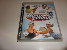 PlayStation 3  PS 3  Virtua Tennis 3
