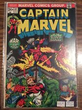 Captain Marvel 27 Marvel Comics Bronze Age