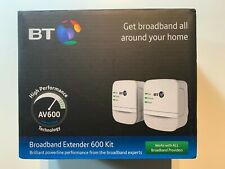 BT Broadband Extender 600 Kit Powerline - BT boxed brand (brown box)